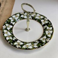 Менажница 1975 ROYAL ALBERT Trillium Provincial flowers 21 см