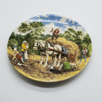 Тарелка Haymaking Wedgwood 1989 limited edition